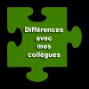 Les différences avec mes collègues